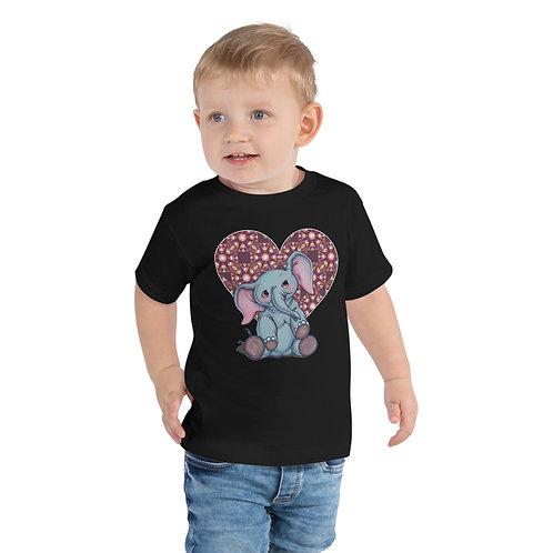 Eleanor the Babe Elephant Toddler Short Sleeve Tee