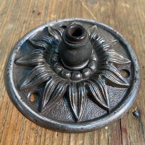 Antique 'Sunflower' Ceiling Rose