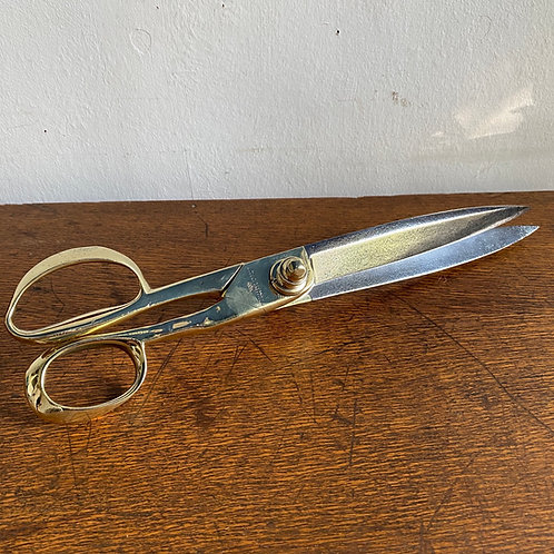Large Antique Tailors Shears