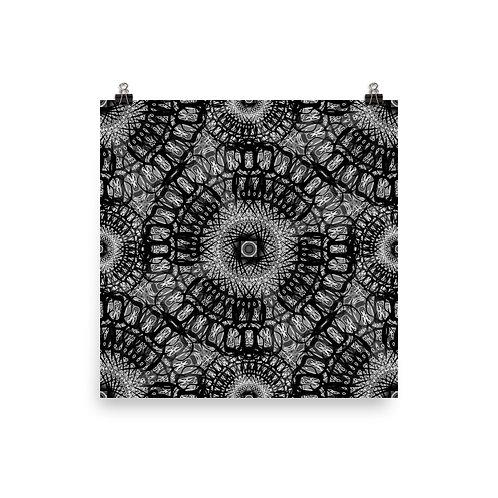 210 Oddflower Tile 2021 | Matte finish Print