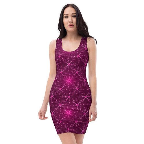 74V. Seaweed Hawaiian Akala V Sublimation Cut & Sew Dress