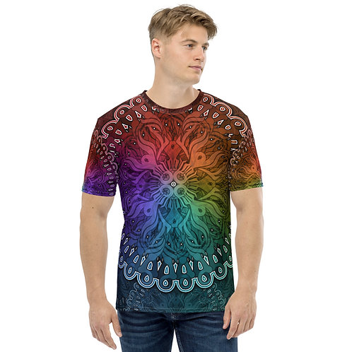 10A21 Spectrum Black Men's T-shirt