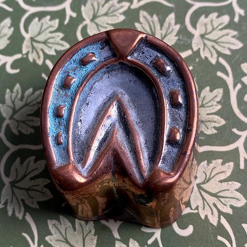 Antique Miniature Copper Mould
