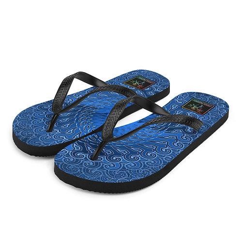 11Y21 Spectrum Blue Flip-Flops