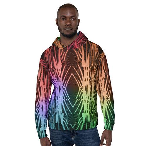 3A21 Spectrum Black Unisex Hoodie