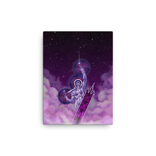 Ride the Lightning - Nebulus Canvas