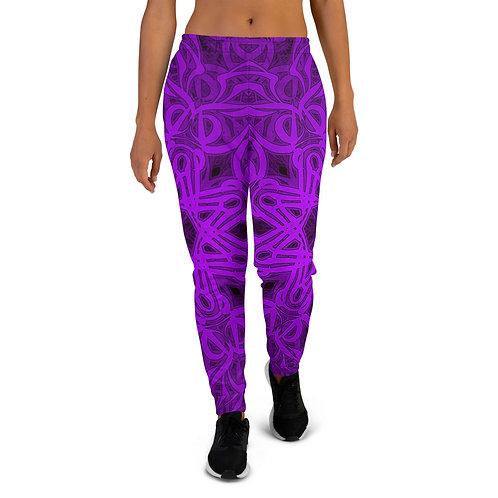 19Q21 OddSpectrum Violet Women's Joggers