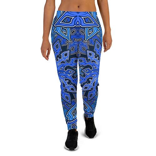 13D21 OddSpectrum Blue Women's Joggers