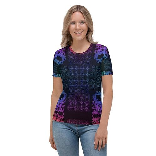 120V1 Barb Wire Colorwild I Women's T-shirt