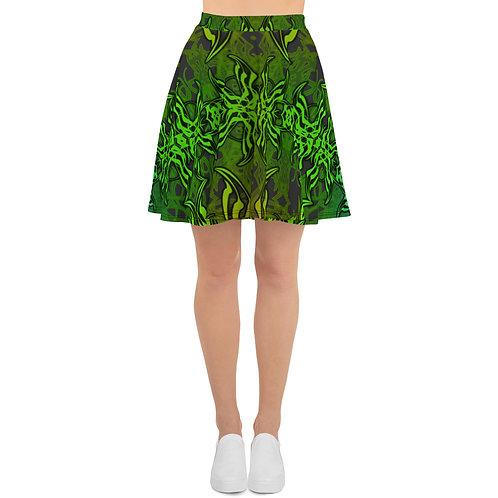 7C21 Spectrum Gray V5 Skater Skirt