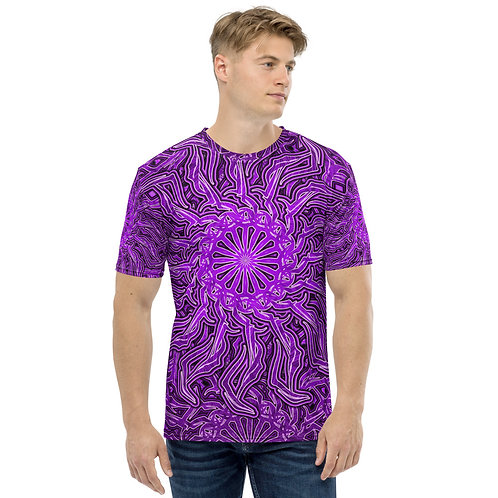 16Q21 OddSpectrum Violet Men's T-shirt