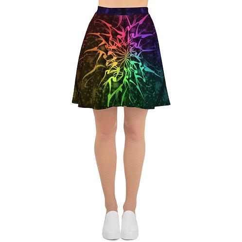 114 Flurry Colorwild I V1 Skater Skirt