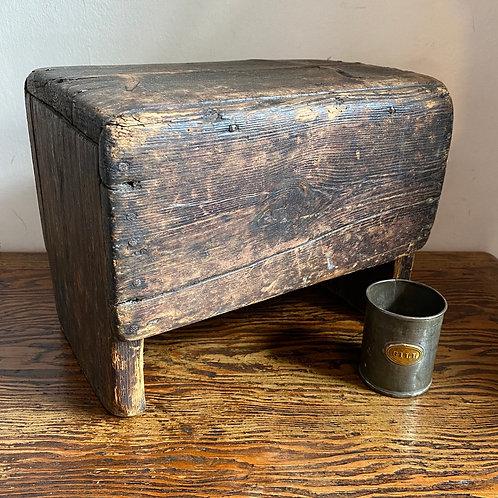 Antique Box Stool