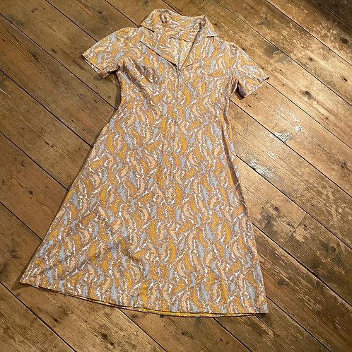 Vintage Handsewn 1940/50's Cotton Dress