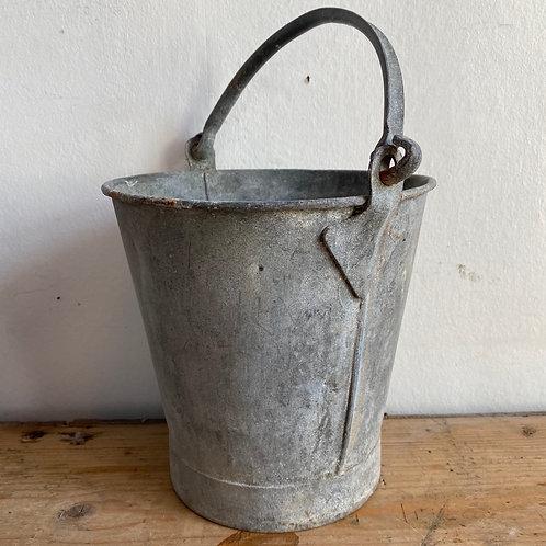 Small Vintage Galvanised Bucket