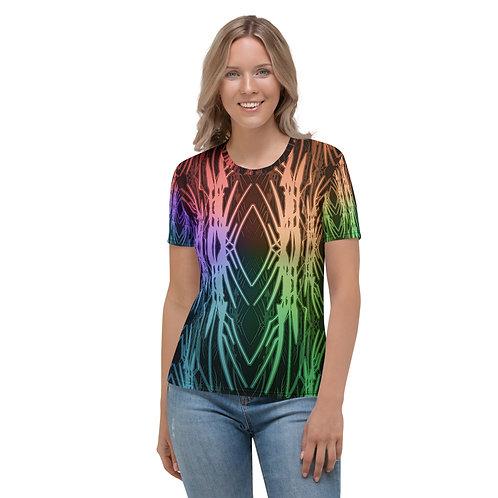 3A21 Spectrum Black Women's T-shirt