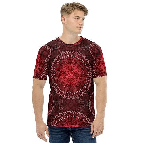 10N21 OddSpectrum Red Men's T-shirt