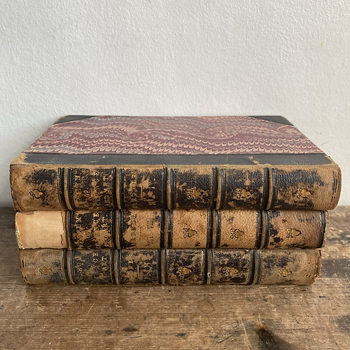 Three Antiquarian Volumes