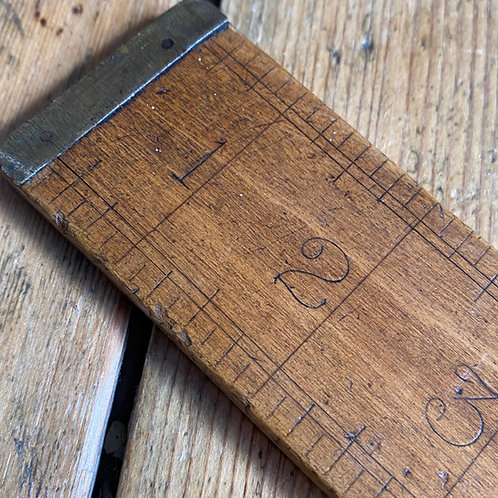 Extra Wide Yard Ruler