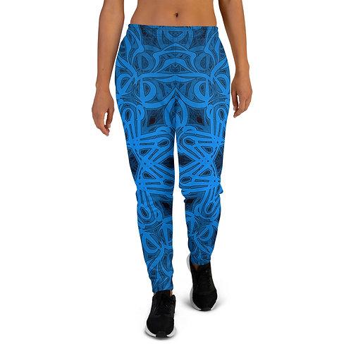 19P21 OddSpectrum Blue Women's Joggers