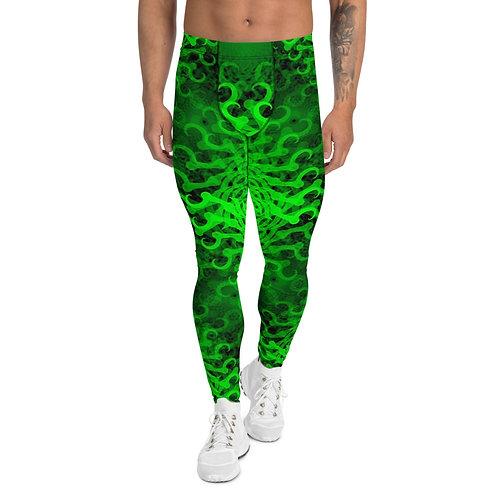 11D21 Spectrum Emerald Men's Leggings
