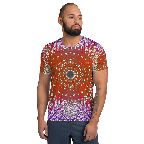 1G21SGWOwg V5 All-Over Print Men's Athletic T-shirt