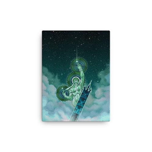 Ride the Lightning - Uranus Canvas