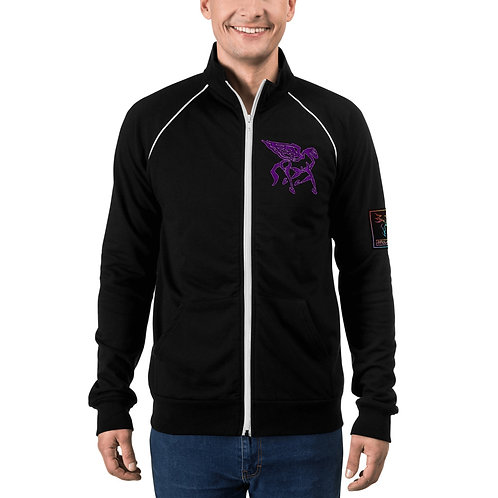 Pegasus Amethyst Portal Piped Fleece Jacket