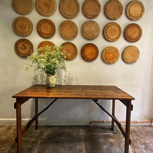 Oak Trestle Table RESERVED