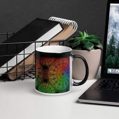 4C21 Spectrum Gray Glossy Magic Mug