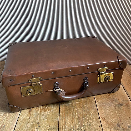 Rare Early Globe Trotter Suitcase