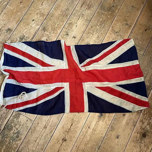 Vintage Panel Stitched Cotton Union Jack