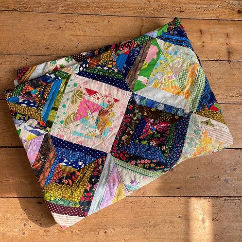 Vintage Large 1950's Patchwork Quilt
