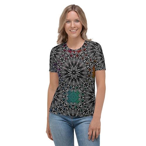 10M21 Oddflower Paradise Women's T-shirt