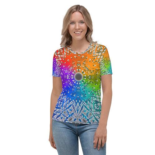 1G21 Spectrum Gray wowg Women's T-shirt