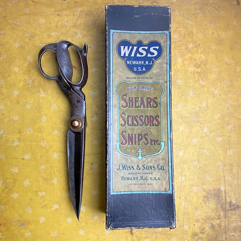 Vintage Tailors Shears in Box