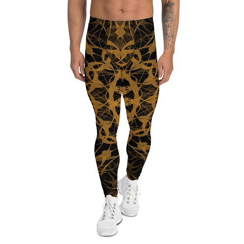 23CH21 Spectrum Gold Men's Leggings