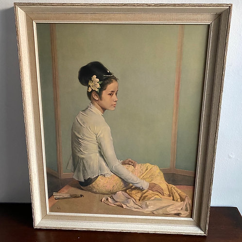 1960's Iconic Picture of Princess Saw Ohn Nyun