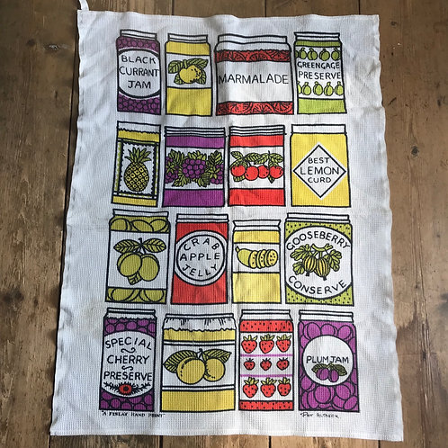Vintage 1960's Pat Albeck Tea Towel