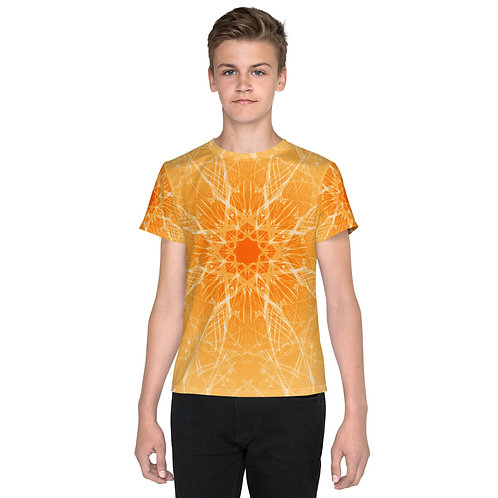 15 3B Musical Snowflake Youth T-Shirt