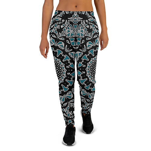 23K21 Oddflower Jade Vine Women's Joggers