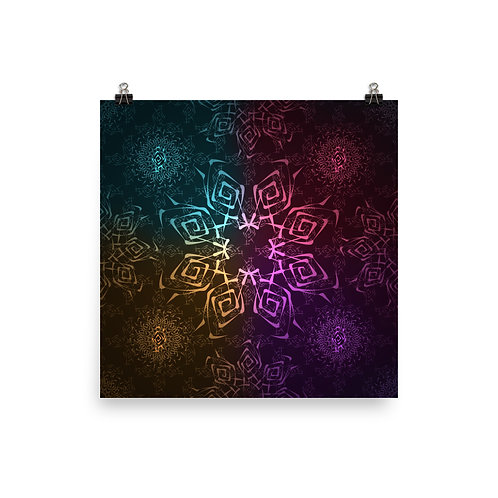 118. Hypnosis Colorwild I | Matte finish Print