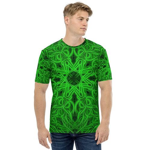 19O21 OddSpectrum Green Men's T-shirt