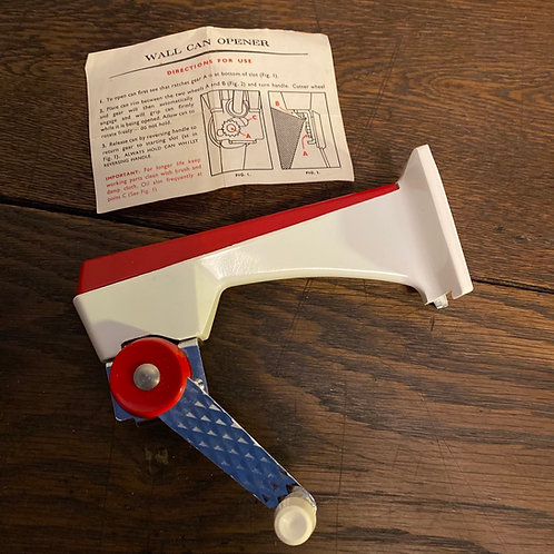1960's Prestige Wall Mounted Can Opener