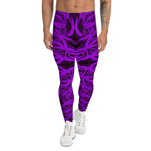 19F21 Spectrum Amethyst Men's Leggings