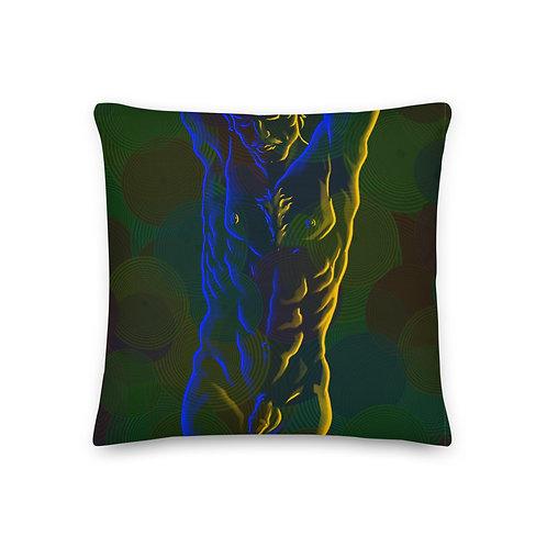 The Electric Men 7 Premium Pillow