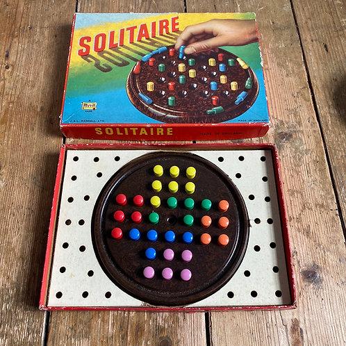 Vintage Bakelite Solitaire Board