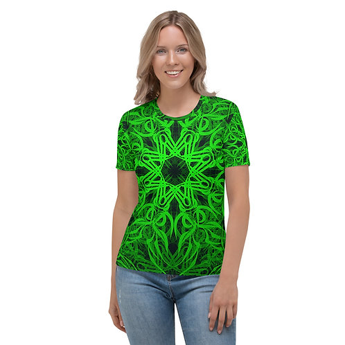 19D21 Spectrum Emerald Women's T-shirt