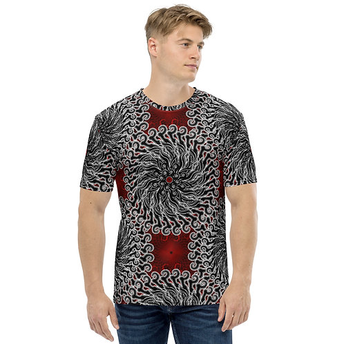 11I21 Oddflower Rose Men's T-shirt