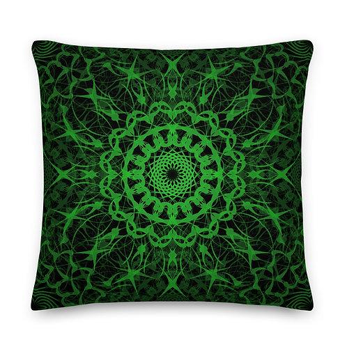 23D21 Spectrum Emerald Premium Pillow